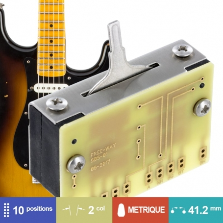 Selecteur Stratocaster Free Way 10 positions