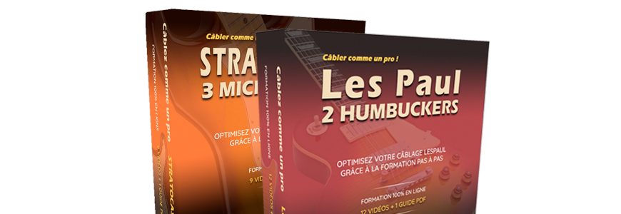 Formations câblage guitare